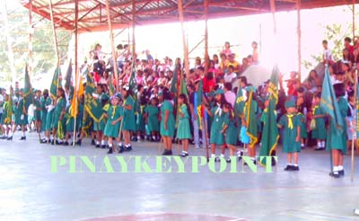 girl scout formation – sapang