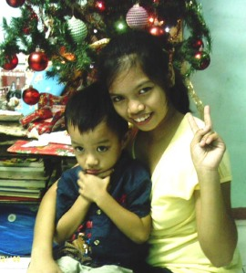 My eldest daughter Jessica & Nonoy